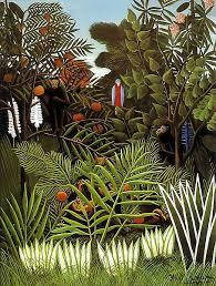 <b>Exotic Landscape</b> - <b>Henri Rousseau</b> - Oil Painting Reproductions ...