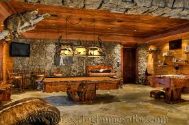 Home game room Ideas Gamesroomad Homebnc Bars And Games Rooms Log Home And Cabin Interiors Pioneer Log