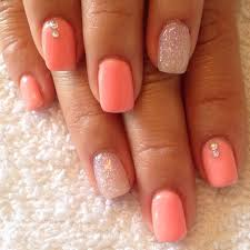 Simple Nail Design Ideas Coral Nails Countessnails