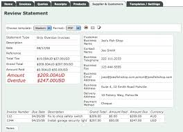 Statement Of Invoices Invoice Place Blog Follow Up Overdue Invoices By Using A