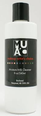 makeup artist s choice muac moisture milk cleanser