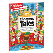 And, it'll keep them busy and having fun. Hidden Pictures Christmas Tales Highlights For Children