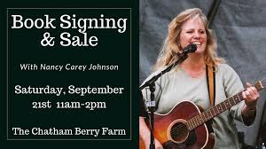 Book Signing & Sale with Nancy Carey Johnson - Chatham Area Business and  Arts