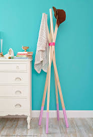 Hang Coat Rack DIY Coat Rack Hang Your Hat in Style more 10