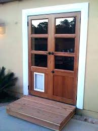 patio door with pet door built in awesome door with door french door with door patio