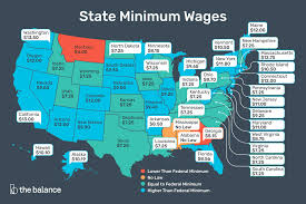 2020 Federal And State Minimum Wage Rates