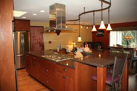 pendant track lighting for kitchen. Awe-inspiring Wooden Kitchen Island Table With Pendant Track Lighting Fixtures Also 5 Burner For I
