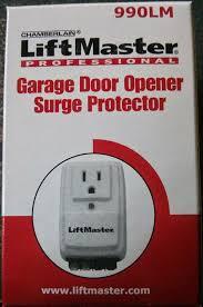 garage door liftmasterLiftmaster 990LM Garage Door Opener Surge Protector Chamberlain