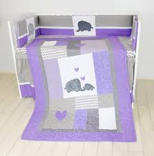 wonderful crib blanket elephant baby boy bedding gray purple quilt gray elephant crib bedding