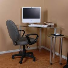 fabulous home office decoration design with ikea glass desks interior ideas ultimate corner clear glass