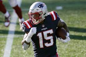 Patriots WR N'Keal Harry is faced with ...