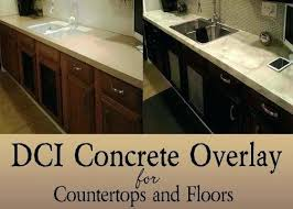 concrete overlay countertops fresh concrete overlay home