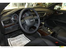 audi a7 interior black. Plain Black Black Interior 2013 Audi A7 30T Quattro Prestige Photo 68377303 Inside D
