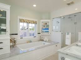 Bathroom Tile Ceiling Master Bathroom With Ceramic Tile Floors High Ceiling In