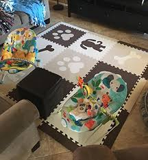 softtiles kids foam playmats puppy dog theme children baby non toxic floor