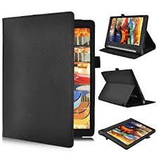 lenovo yoga tab 3 10 1 inch flip case ivso slim folio book case cover