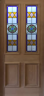 32 x 80 stained glass front door