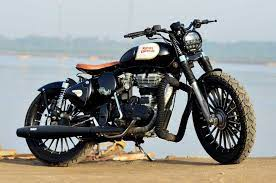 modified royal enfield clic 500
