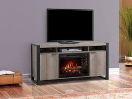 pierre electric fireplace entertainment center in