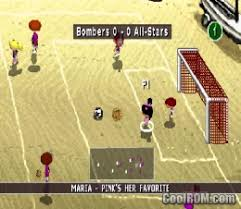 Backyard Soccer ROM ISO Download For Sony Playstation  PSX Download Backyard Soccer