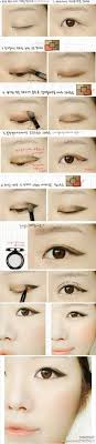pictures how to apply eye makeup for asian