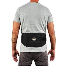 Ergodyne Proflex 1500 Weight Lifters Style Back Support Belt Medium Black