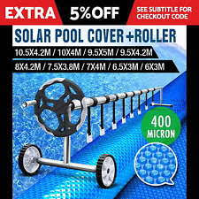 unbranded pool equipment parts solar swimming pool cover roller 400 micron outdoor bubble blanket