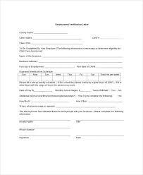 Income Verification Letter Template Income Verification Letter