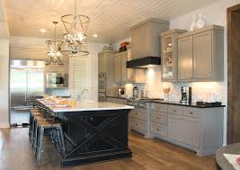 kitchens with painted black cabinets. Modren Kitchens Gray Kitchen Cabinets  Burrows Central Texas Builderdirect  Custom Cabinets Throughout Kitchens With Painted Black