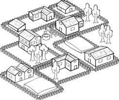 village clipart free download clip art free clip art on Village House Design Plan village clip art 2 Bedroom House Simple Plan