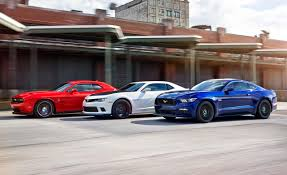 2015 Ford Mustang GT vs. Chevrolet Camaro SS 1LE, Dodge Challenger ...