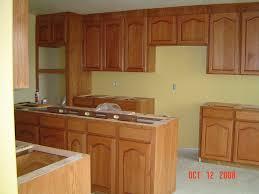 image of oak kitchen cabinets makeover