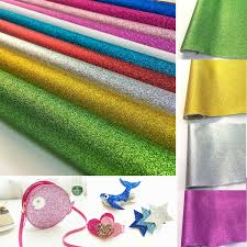 details about glitter faux leatherette vinyl fabric sheet hair bow diy decoration crafts a4