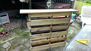 build your own patio bar how to build a patio bar custom pallet outdoor patio bar build your own patio bar