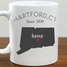 $2.00 coupon applied at checkout. Heart Of Connecticut Coffee Mug