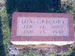 Ida May Cardin Gregory (1885-1941) - Find A Grave Memorial
