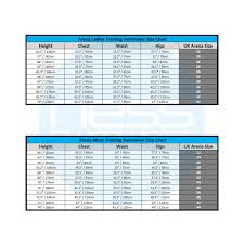 Arena Swimsuit Size Chart Arena Swimwear Adult Swimwear Ness Swimwear