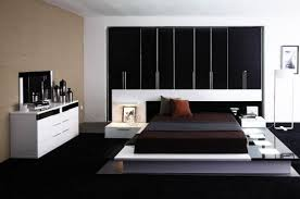 Platform Beds Modern Walnut Room Bedroom Trendy Walnut Bedroom - Black and walnut bedroom furniture