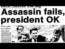 Image result for assassination of President Ronald Reagan