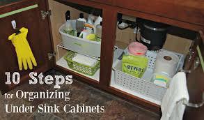 Under Kitchen Sink Cabinet 10 Steps For Organizing Under Sink Kitchen Cabinets Sweet Shoppe Mom