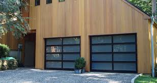 dark brown garage doorsModern Classic  Northwest Door