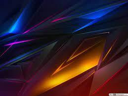 Geometric Neon lines HD wallpaper download