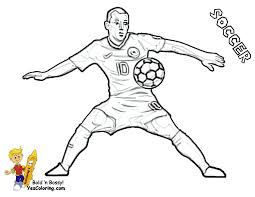 Small Picture For Kids Soccer Player Coloring Pages 36 With Additional Gallery