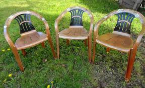 painting furniture with spray paint. Paint Plastic Chairs S 12 Pool Chair Ideas We Never Would Have Thought Of Painted Furniture Painting With Spray