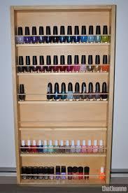 nail polish organisation and storage new storage rack
