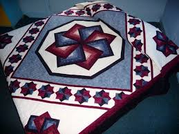 Amish Quilt Patterns Impressive Star Spin Quilt Pattern 48 Best Images About Amish Quilts On