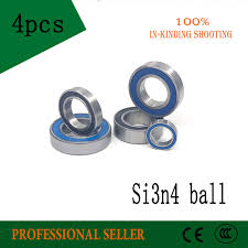 7004 7004c 2rz hq1 p4 dt a 20x42x12 2 sealed angular contact bearings speed spindle cnc abec 7 si3n4 ceramic ball