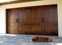 broken overhead garage door springs replace wooden garage swood wi