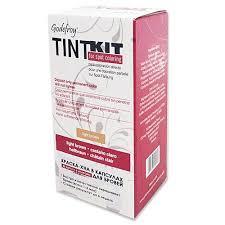 <b>Синтетическая краска-хна</b> для бровей GODEFROY Tint Kit Light ...
