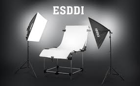 esddi photography soft box set is committed to provide photographers with the most perfect photographic equipment this esddi softbox lighting kit is